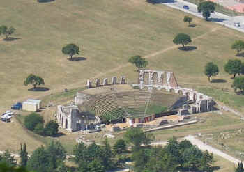 Roman Theatre at Gubbio